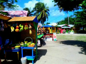 union island local market