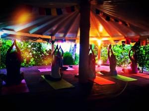 bougainvilla yoga