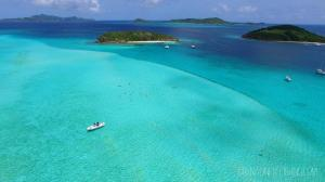 drone bateau cays grenadines fishing c