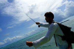 fly fishing rodes game